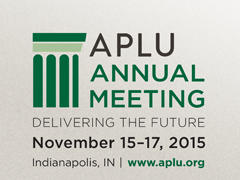 2015 APLU Annual Meeting Logo