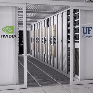 Image of supercomputer